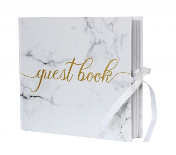 "Gästebuch ""Guest Book""- Marble Love"