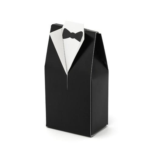 Gastgeschenkboxen Bräutigam Hochzeit - 10 Stück