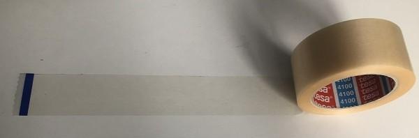 6 Rollen tesapack® 4100 PVC 66 m x 50 mm, transparent, Klebeband, Packband verstärkt, geprägt