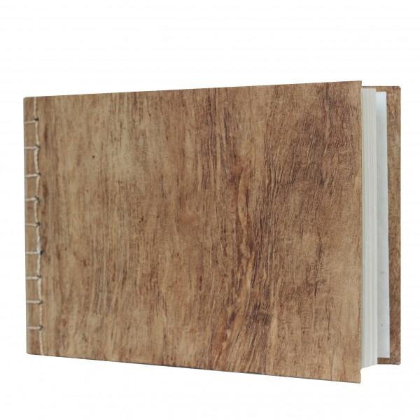 Gästebuch aus Maulbeerbaum Papier braun