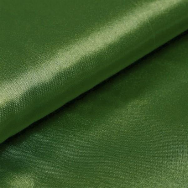 Satin Meterware olivegrün