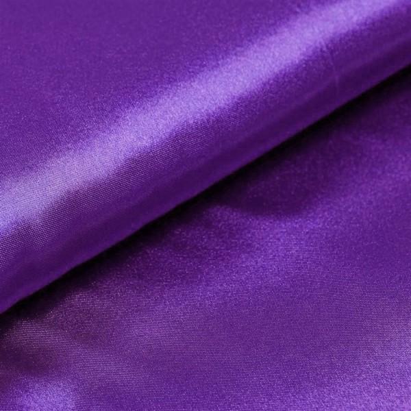 Satin Meterware lila violett