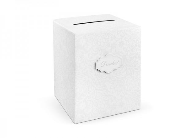 """Kartenbox für Hochzeit """"Danke"""""""