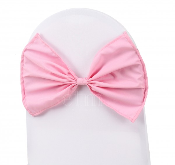 Butterfly Stuhlband pink