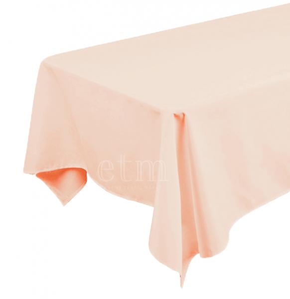 Tischdecke ECKIG 1,30 x 2,30m blush puder