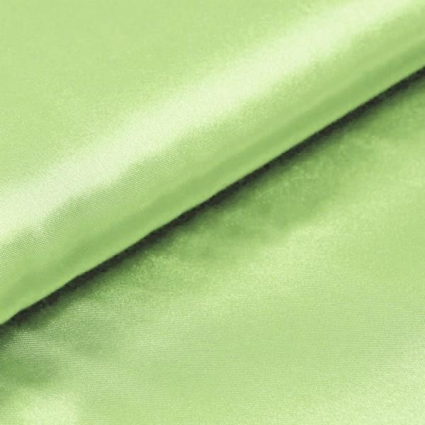 Satin Meterware pastellgrün
