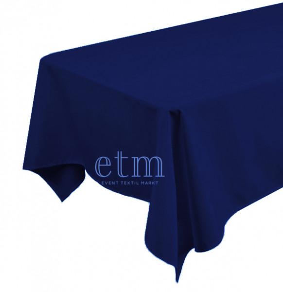 Tischdecke ECKIG 1,30 x 2,30m marineblau