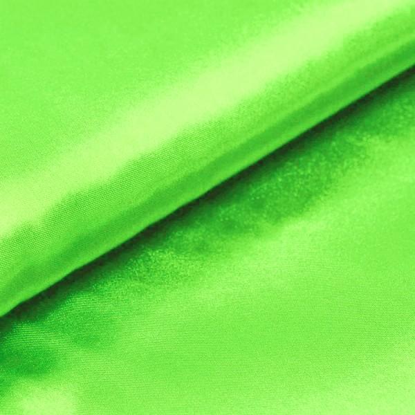 Satin Meterware apfelgrün neongrün