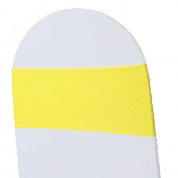 5 x STRETCH Stuhlbänder gelb