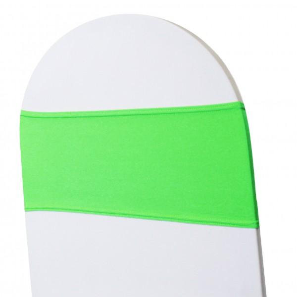 5 x STRETCH Stuhlbänder apfelgrün
