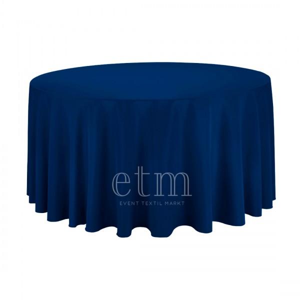 Tischdecke RUND ø300cm dunkelblau