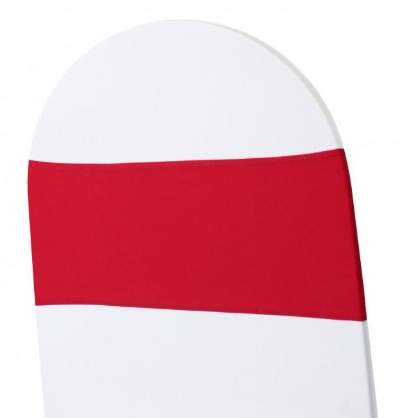 5 x STRETCH Stuhlbänder rot