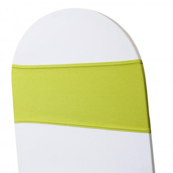 5 x STRETCH Stuhlbänder grün